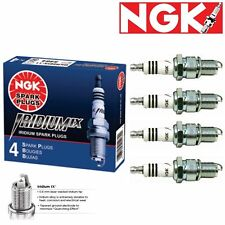 4 Genuine NGK Iridium IX Spark Plugs for 1971-1972 Peugeot 304 1.3L L4 - Engine