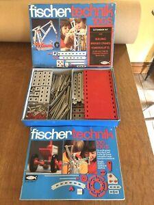Fischertechnik 100s Extension Kit - Bridges Cranes Towers Lifts - VGC