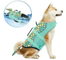 Dog Life Jackets Ripstop Pet Floatation Life Vest/swimsuit for Large Size dogs