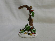 Charming Tails Holly Ornament Holder 93/502 Christmas Mouse New In Box