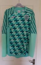 England Away GK Goalkeepers Football Shirt Top Euro 2012 - Mens L XL Umbro