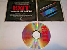 CD - Tangerine Dream Exit - No Barcode CDV # R1