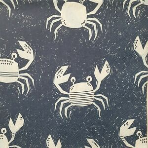 4 x Paper Napkins Serviettes Decoupage Napkins Costal Crab - Sea Animals B.New