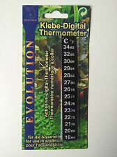 No. 1 Digitales Aquarium Klebe Thermometer für deinaquarium_de