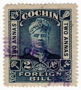 (I.B) India (Princely States) Revenue : Cochin Foreign Bill 2a