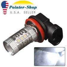 1x 12V-24V High Power 80W H11 Led Fog Light Driving Bulb 6000K White DRL LED US