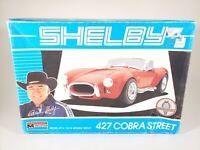 Monogram Shelby 427 Cobra Street 1:24 Scale Plastic Model Kit #2798 - STARTED
