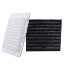 2x Engine &Cabin Air Filter For Toyota Corolla Yaris Matrix Scion xD 17801-21050