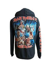 Iron Maiden Best of the Beast Medium Hoodie Clothing Merchandise Rock@Tees RARE