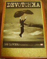 DEVOTCHKA 100 Lovers New 2010 PROMO POSTER for CD MINT Never hung up or used