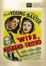 Wife, Husband and Friend (DVD, 2013)