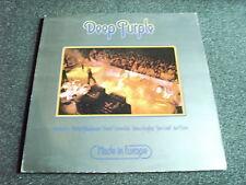 Deep PURPLE-MADE IN EUROPE LP-MADE IN YUGOSLAVIA