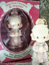 Precious Moments Ornament May Your Christmas 587931 '99 *Free 1St Class Shipping