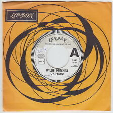 Willie MITCHELL * Up Hard * 1968 SOUL MOD R&B BOOGALOO *Belgian PROMO 45 *Listen