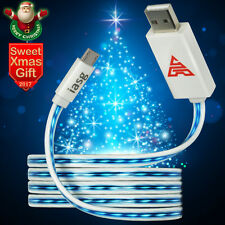 HOT LED Light-up Micro USB Data Charger Cable For Samsung HTC Android Cell Phone