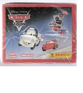 Cars Toon Disney Box 50 Packs Stickers Panini