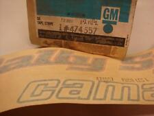 "NOS GM # 474557 Camaro ""Rally Sport Camaro ""Decal  front fender 1978 only !"