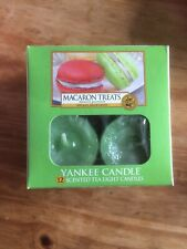 NEW Yankee Candle Tea Light Candles, Macaron Treats, Pack of 12