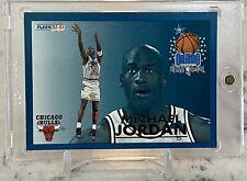 Michael Jordan 1992-93 Fleer All-Star Weekend Insert Card #6 Chicago Bulls NM-MT