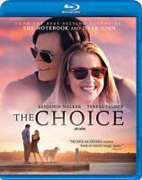 The Choice (Blu-ray/DVD, 2016, 2-Disc Set)Alexandra Daddario, Tom W No Slipcover