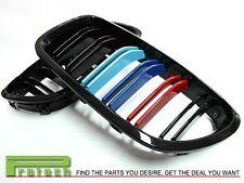 M Tri 3 Color Gloss Black Grille fit BMW F10 Sedan 528i 535i 550i M5 2011+