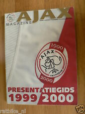 VOETBAL,FOOTBALL,SOCCER,SEASON AJAX 1999/2000 PRESENTATION EDITION