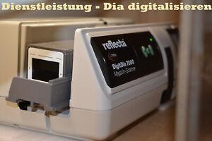 Dia digitalisieren, Dias scannen mit ICE Staubentfernung und Kratzerentfernung