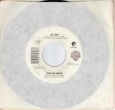 ZZ TOP  Viva Las Vegas / 2000 Blues  45 from 1992
