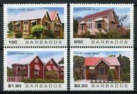 Barbados 2019 MNH Chattel Houses II 4v Set Cultural Heritage Architecture Stamps