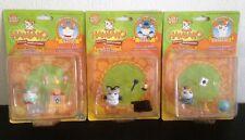 Hamtaro new series Tricky, Birbo and Hamtaro Hamsters Figures & Accessories Sets