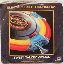 """ELO SWEET TALKIN' WOMAN (PURPLE) 7"""" PURPLE VINYL + P/S US"""