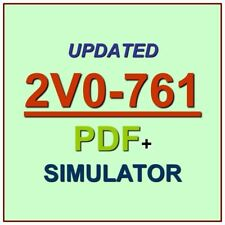 VMware Certified Professional VCP Digital Workspace Exam 2V0-761 Test QA PDF+SIM