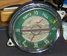 1940 Buick Fuel / Oil Instrument Cluster