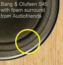 2x Schaumstoff flexible Sicken für Bang & Olufsen S45, S55, Beovox 3700, 3702