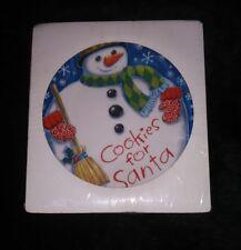 New Seasons cookies for Santa plate. Illustrates Alyssa Mooney.