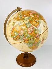 "Herff Jones Replogle Classic 12"" Desktop World Globe Made in USA"