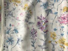 Ashley Wilde Zahira Denim Curtain Fabric By The Metre