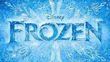 Frozen logo - iron on transfer 5x8