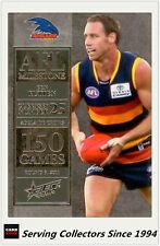 2012 Select AFL Champions Milestone Card MG1 Ben Rutten (Adelaide)
