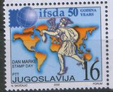YUGOSLAVIA-MNH- STAMP-INTL.FEDERATION OF STAMP-2002.