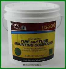 BlackJack Heavy Duty Tire and Tube Mounting Lube Compound Paste 8 lb. Pail