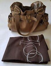 Kooba Lena Leather Handbag in Slate