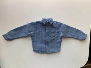 Vintage GI Joe Sailor Work Shirt - TM No Country Of Origin - Excellent!