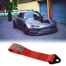 Universal Vehicle Auto Racing Recovery Hook Towing Tow Strap High Strength JDM