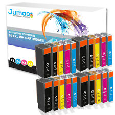 20 pour Canon pixma ip4850 ip4950 mg5150 mg5250 mg5350 MG6150 8150 pgi525 cli526