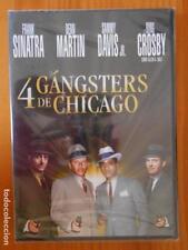 DVD 4 GANGSTERS DE CHICAGO - FRANK SINATRA - NUEVA, PRECINTADA (4C)