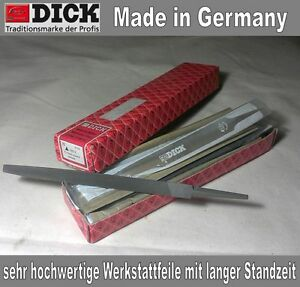 Hieb 3 Länge 250 mm Dick Werkstattfeile vierkant