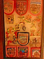 Tourist Patches, Metal and Plastic Tourist Pins