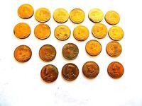 "1950 (Year 2493) Thailand Five (5) Satang Coin ""One Coin Per Order"""