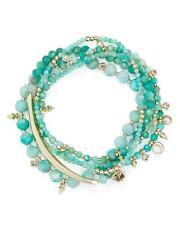 New Kendra Scott Supak Beaded Bracelet Set In Amazonite $95